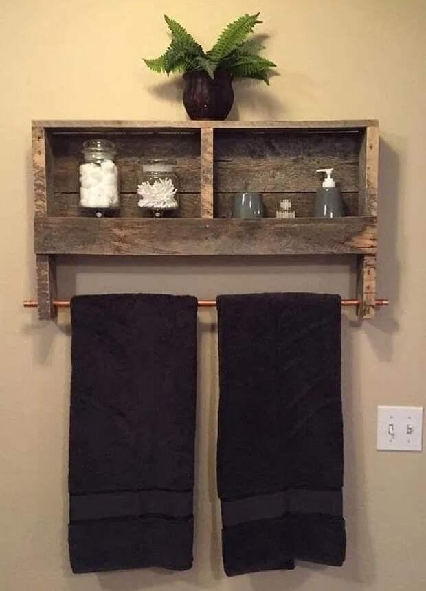 Прекрасные идеи применения деревянных досок в ванной