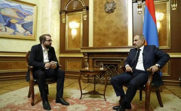 Пашинян уверен, что Россия поможет Армении вслучае необходимости