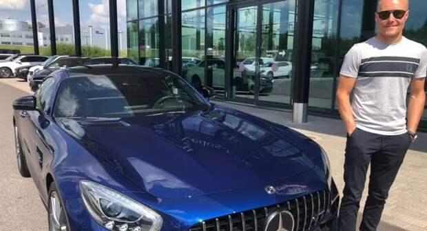 Валтерри Боттас выставил на продажу Mercedes-AMG GT