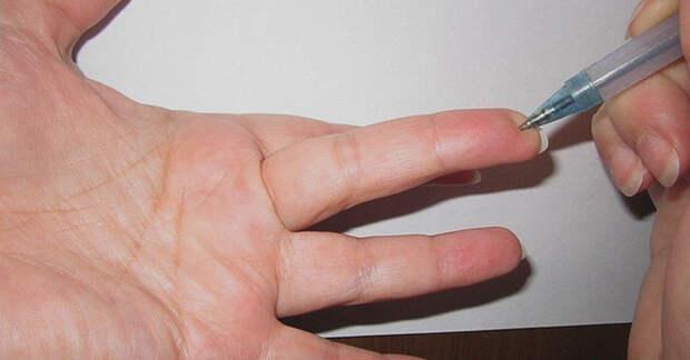 Особая точка на пальце - это очень эффективный рецепт!