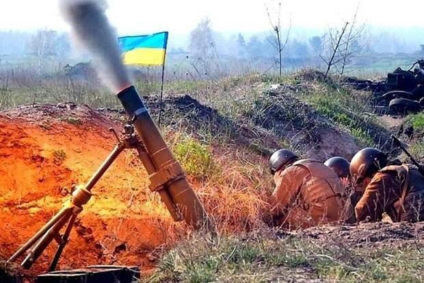Украина минометным огнем «поздравила» жителей Донбасса с Днем Победы