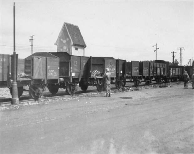 Фото поезда с открытыми дверями и без крыш.