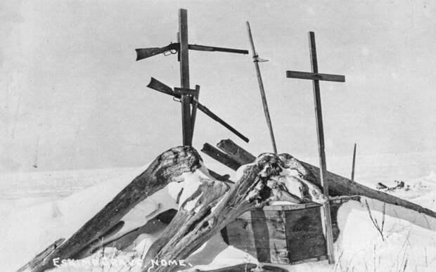 Могила эскимоса