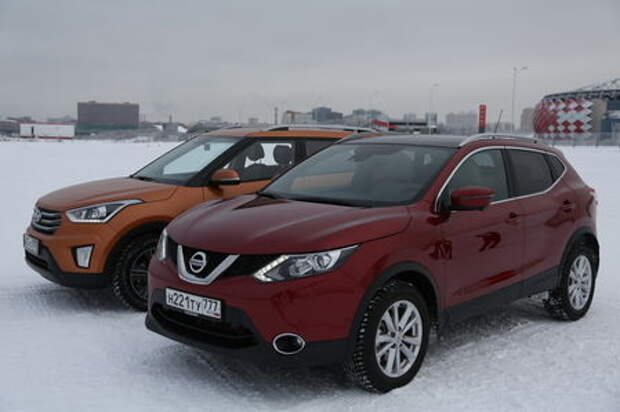 Nissan Qashqai – Hyundai Creta: дворцовый переворот?