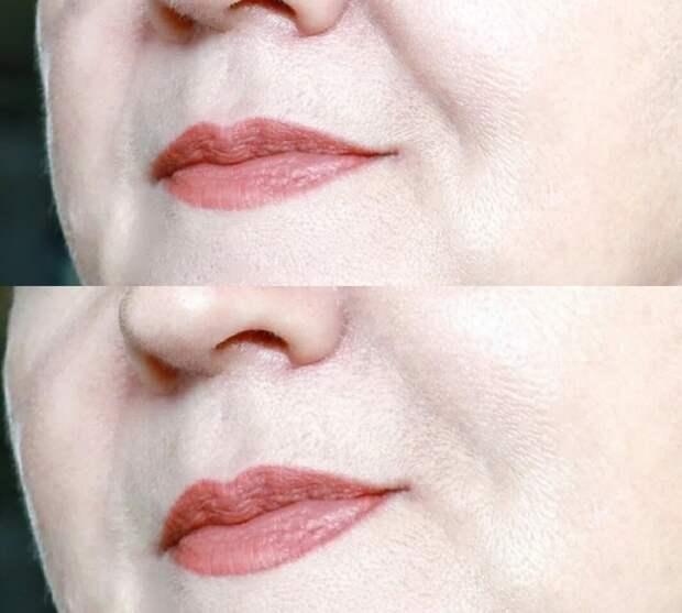 Как выглядит маскировка (до и после)