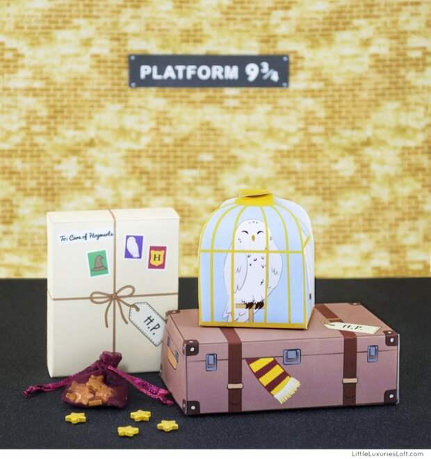 Подарки от Гарри Поттера (Diy)