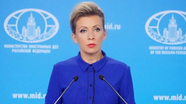 «Не смог «пройти мимо лужи»: Захарова ответила на дерзость главы МИД Украины
