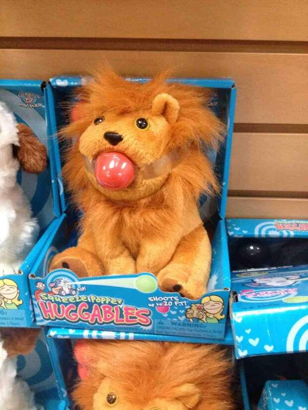 Безумные игрушки, с которыми даже страшно играть