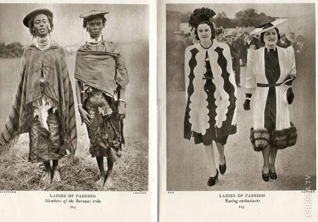 """Истории без слов - фотографии из журнала """"Лилипут"""" 1937 года"""