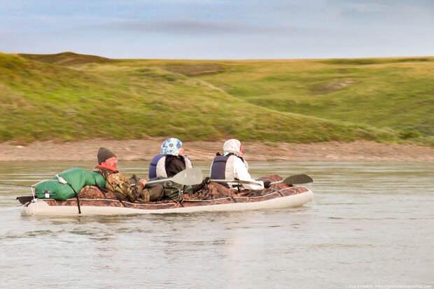 Особенности туристического сплава за полярным кругом.