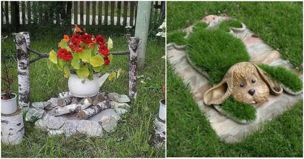 Двойная красота: великолепные цветы в оригинальных цветниках