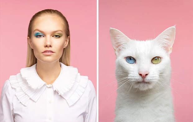 Фотограф делает снимки людей икотов, которые выглядят как двойники | Канобу - Изображение 10