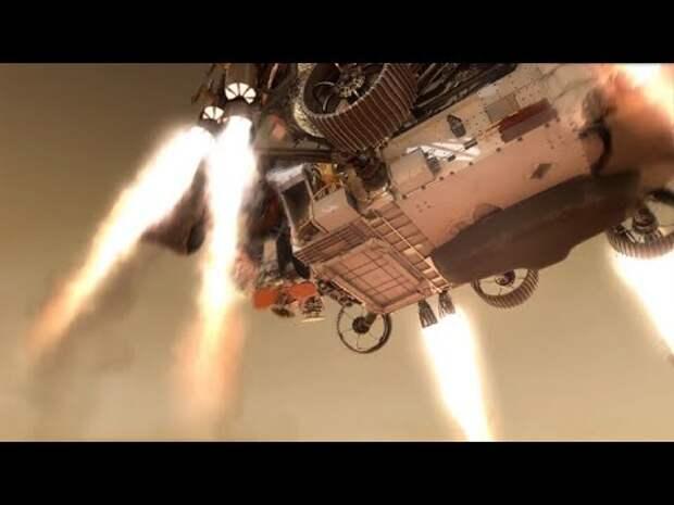 Первое видео с Марса в высоком разрешении