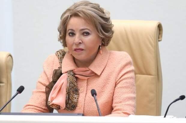 Матвиенко сообщила о сокращении утечки мозгов за рубеж