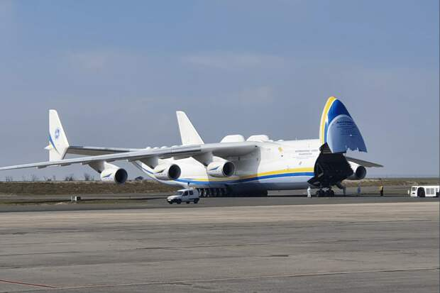 Невероятный, крупнейший в мире самолёт АН-225 Мрия