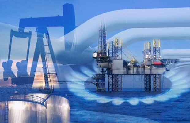 Россия добыча экспорт нефть газ Роснефтегаз