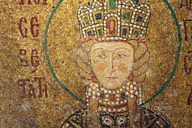 Византийская императрица Ирина.