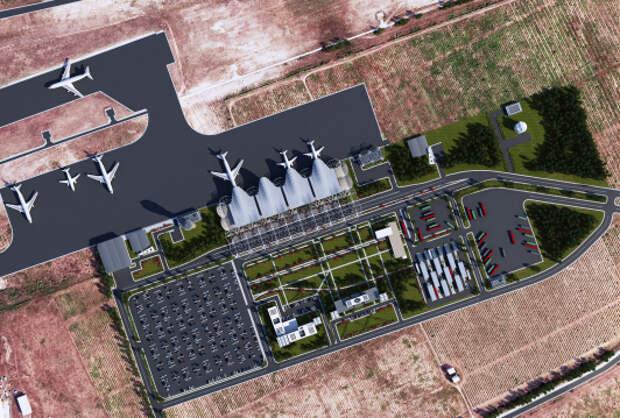 Как будет выглядеть гражданский аэропорт «Бельбек» в Севастополе (фото+Видео)
