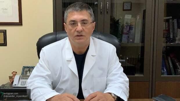 Доктор Мясников посоветовал не воспринимать маску как надежную защиту