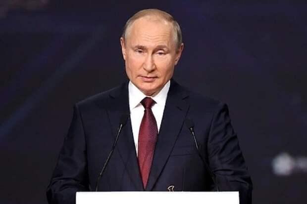 Путин назвал вакцину, которой привился от коронавируса