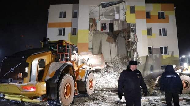 Появилось видео взрыва в жилом доме в Белгородской области