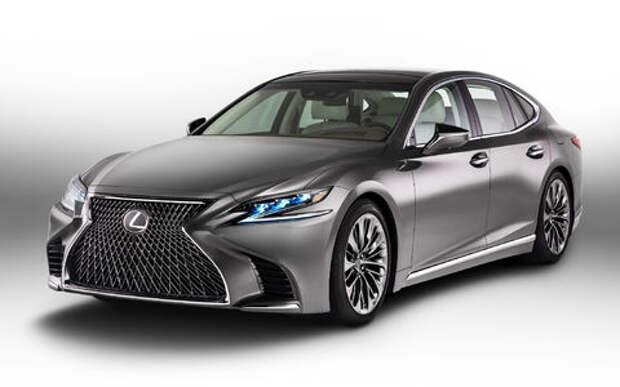 Проглотить S-класс: в Детройте дебютировал новый Lexus LS