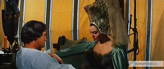 """Жан Маре и Розанна Скьяффино в фильме """"Тайна Бургундского двора"""" (1961)"""