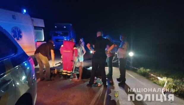 В Запорожской области обстреляли микроавтобус с пассажирами