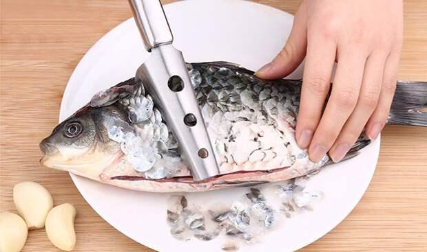Как чистить рыбу быстро и правильно