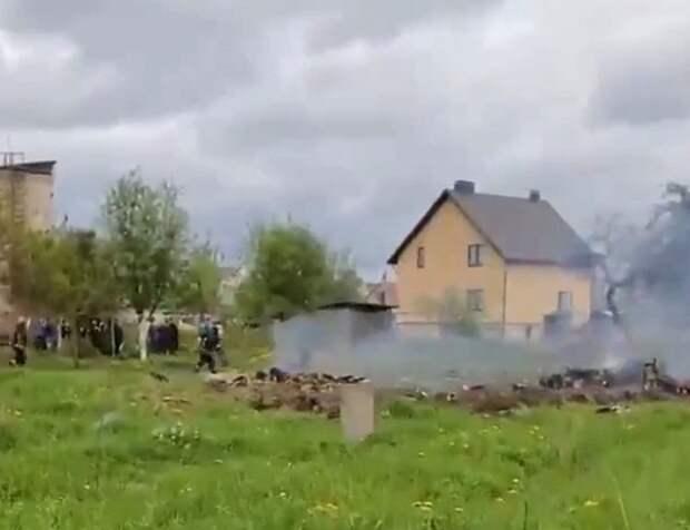 Лукашенко назвал причину крушения военного самолета в Барановичах
