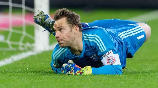 Нойер повторил рекорд Кана по числу сухих матчей в Бундеслиге