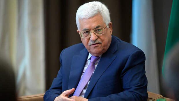 """Президент Палестины назвал действия Израиля """"этническими чистками"""""""