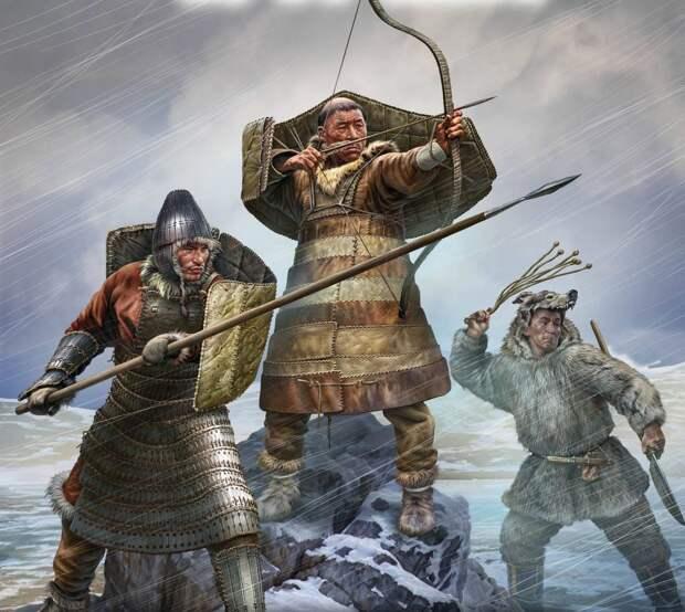 Оружие заполярных самураев: чем воевали грозные чукчи