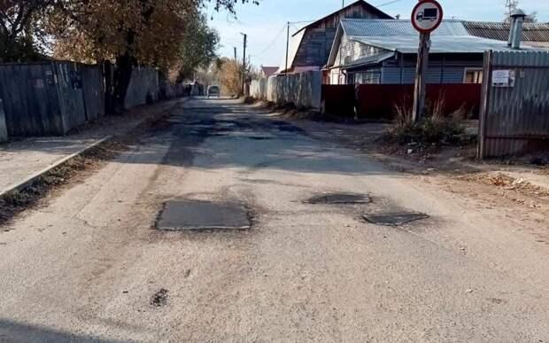 С начала года в Рязани заделали около 50 тысяч квадратных метров дорог