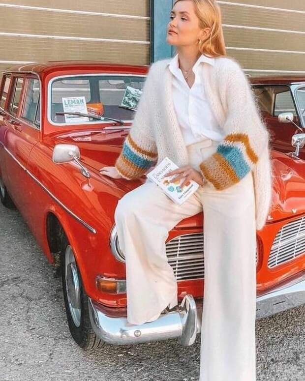 4 модных женских кардиганов, которые добавят стиля любому образу