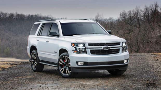 Раллийный грузовик: Chevrolet «зарядила» Tahoe