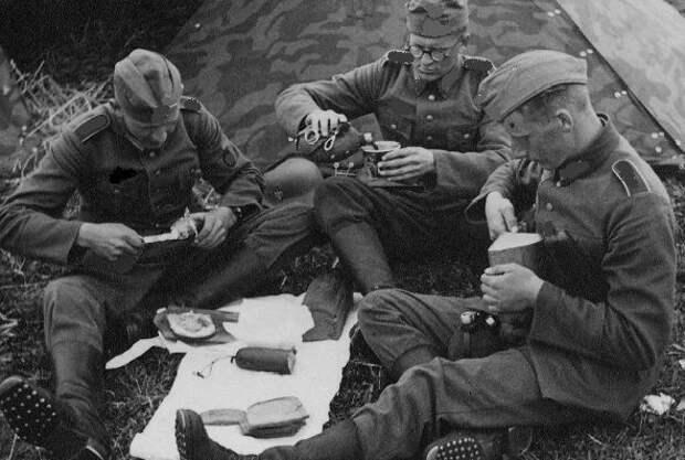 Чем сухие пайки солдат вермахта так удивили красноармейцев