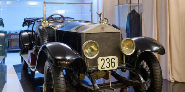 Автомобиль «Роллс-Ройс», 1922 г., бывший в распоряжении В.И.Ленина.