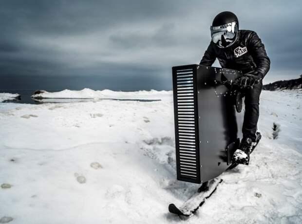 Изящный снегоход Snoped