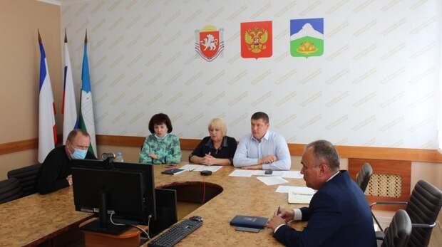 Состоялось рабочее совещание по проблемным и актуальным вопросам жизнедеятельности сельских поселений Белогорского района
