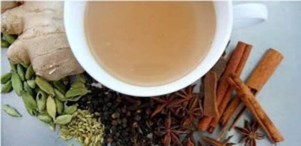 Пряный чай без горечи
