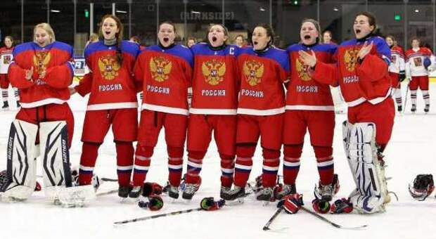 Российские хоккеистки заставили смолкнуть трибуны, освиставшие нашгимн (ВИДЕО)   Русская весна