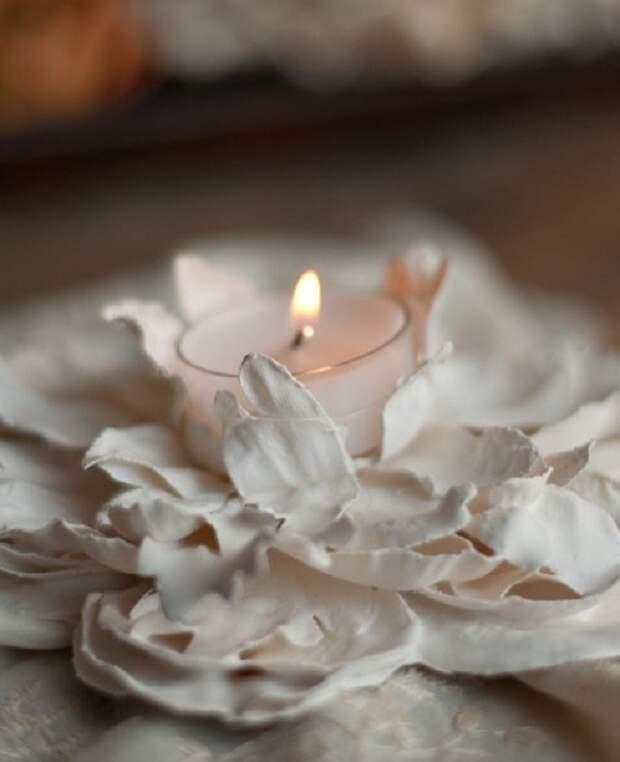 Восхитительные идеи цветочного декора из гипса