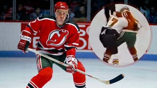 Знаменитая драка советского хоккеиста в США. Касатонов не испугался 100-килограммового канадца: видео