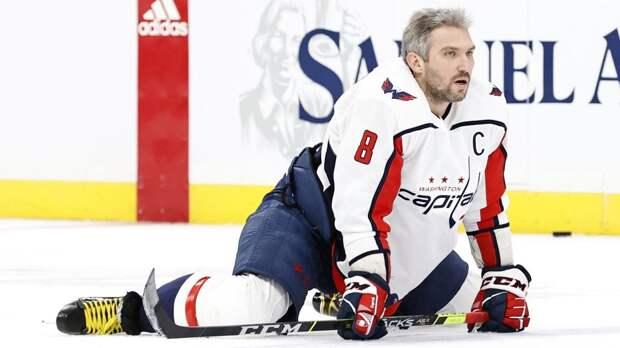 Овечкин не смог продолжить матч с «Рейнджерс» из-за травмы. Капитан «Вашингтона» провел на льду всего 39 секунд