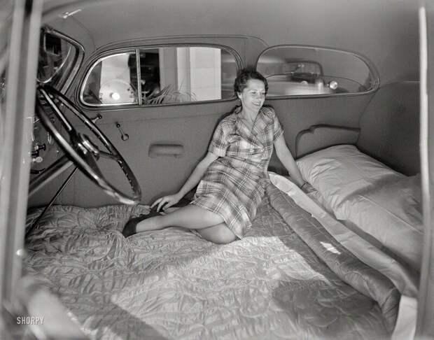Спальня в «Понтиаке». Сан–Франциско. США. 1936 г.