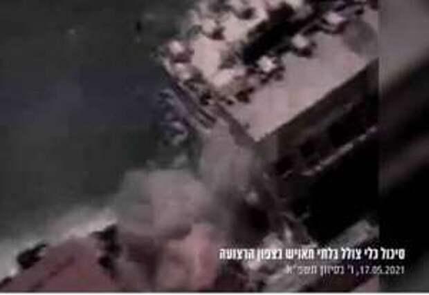 ЦАХАЛ уничтожил подводную лодку ХАМАС