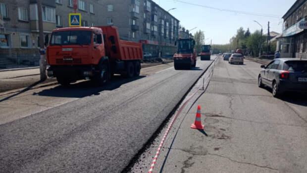 В Новоалтайске приступили к ремонту дорог в рамках нацпроекта