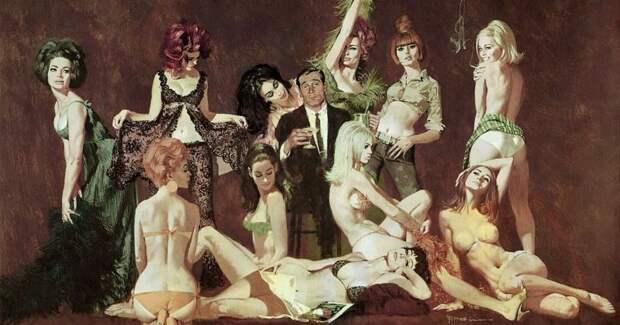 Авантюрный мир Роберта МакГинниса: горячие красотки и шпионские страсти