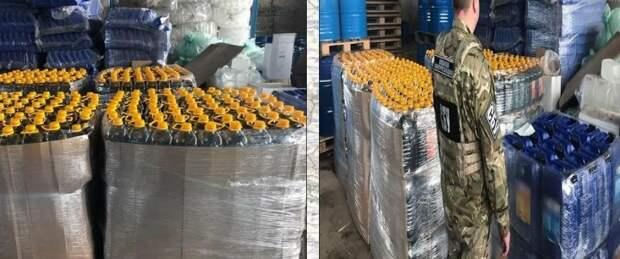 Боевики ВСУ организовали подпольный цех по производству контрафактного алкоголя